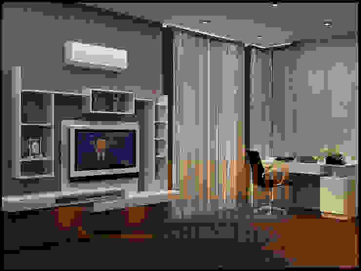 Modern Residential Modern Living Room by CV Leilinor Architect Modern