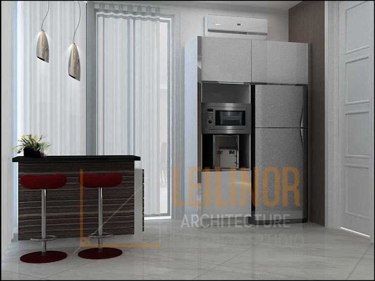 Modern Residential Modern Kitchen by CV Leilinor Architect Modern