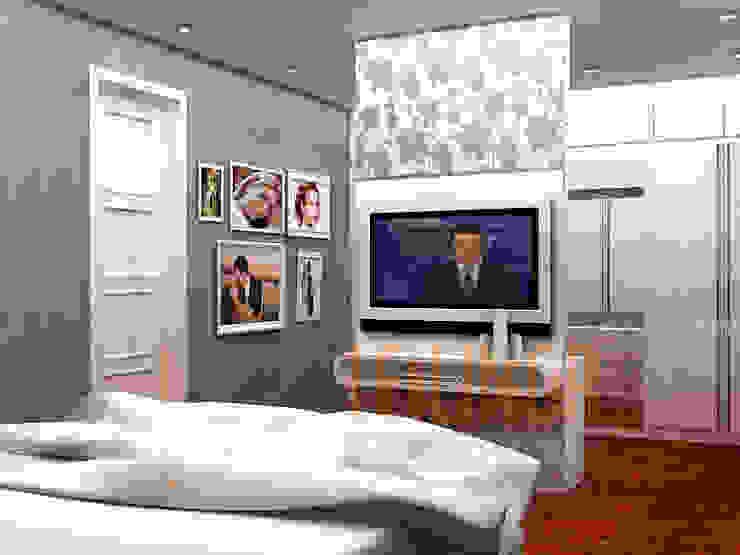Modern Residential Modern Bedroom by CV Leilinor Architect Modern