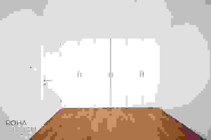 부산 해운대 센텀파크 아파트 인테리어 미니멀리스트 미디어 룸 by 로하디자인 미니멀