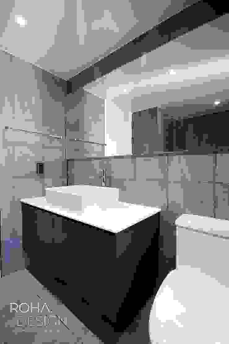 부산 해운대 센텀파크 아파트 인테리어 미니멀리스트 욕실 by 로하디자인 미니멀
