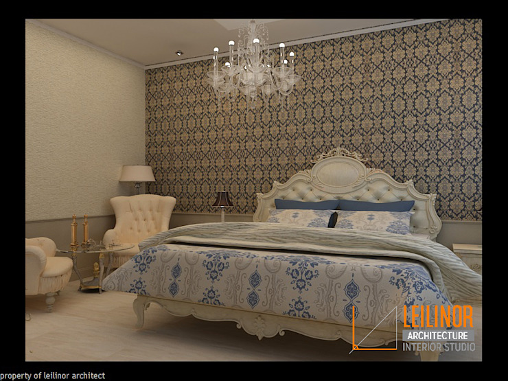 Morrocan Style Interior Classic style bedroom by CV Leilinor Architect Classic