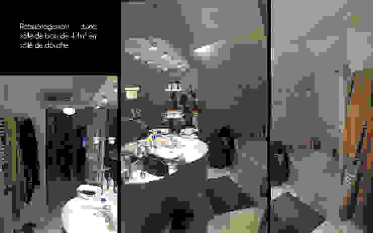 Salle de douche - Meylan par 1.61 design Industriel