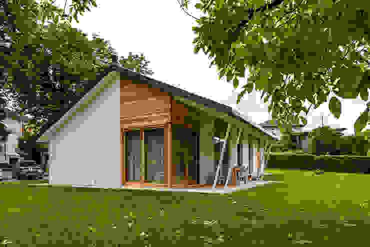 Woodbau Srl Rumah kayu Kayu Wood effect