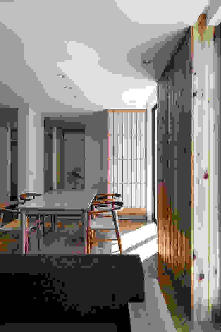 松岡淳建築設計事務所 Modern dining room