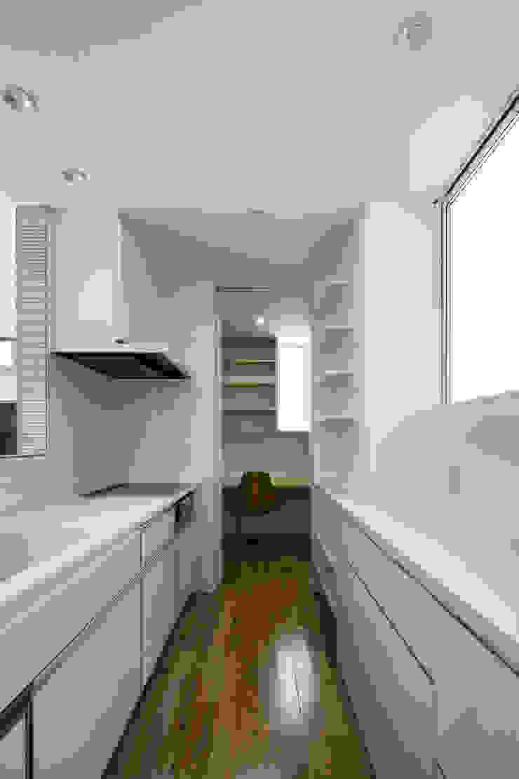 松岡淳建築設計事務所 Modern style kitchen