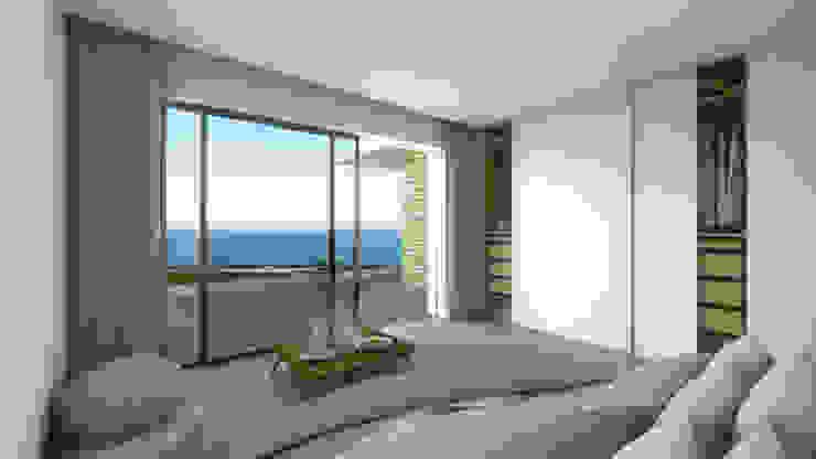 ミニマルスタイルの 寝室 の DR Arquitectos ミニマル