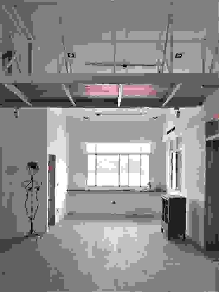 折紙居 II 白廊 根據 喬克諾空間設計 隨意取材風