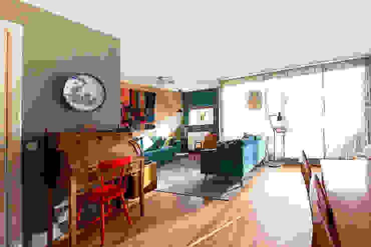 Regina Dijkstra Design Eclectic style living room