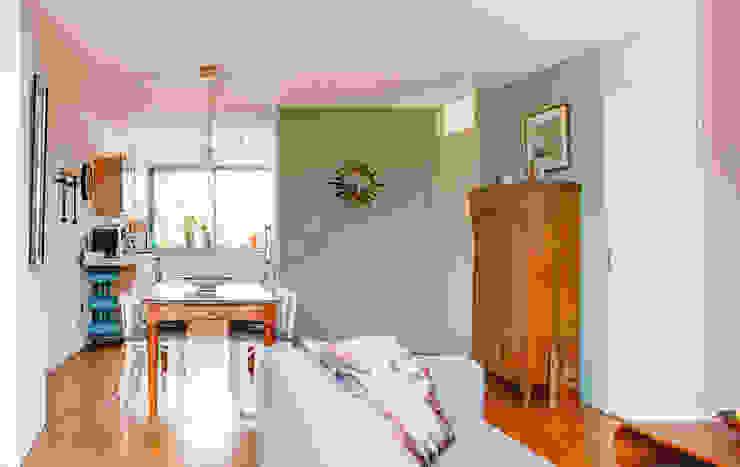 De eethoek Eclectische woonkamers van Regina Dijkstra Design Eclectisch