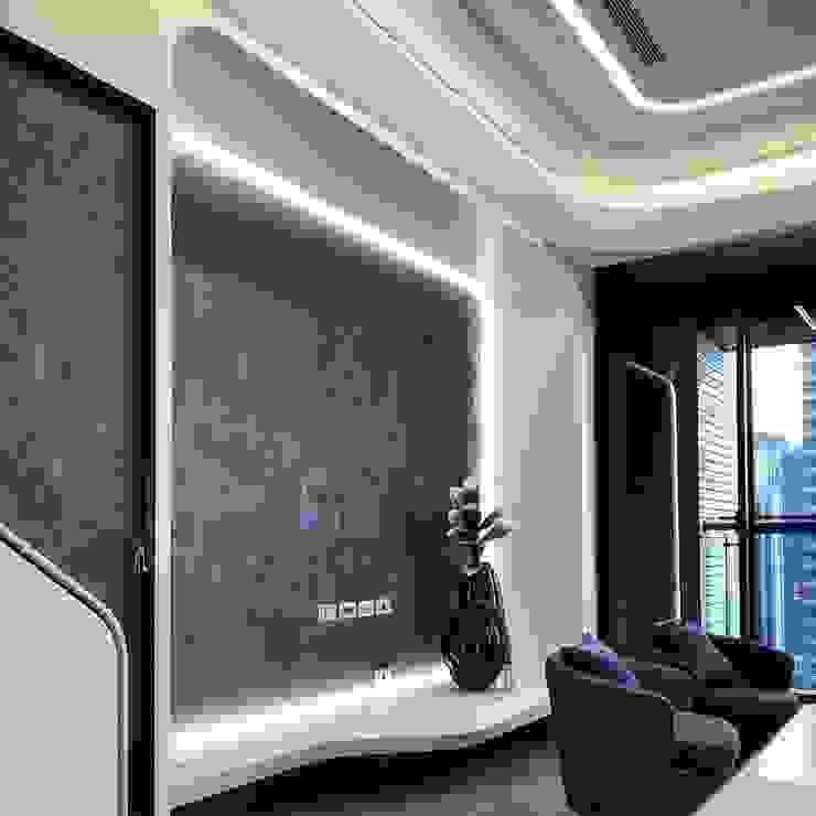 Modern meets culture and heritage 根據 On Designlab.ltd 現代風 塑木複合材料