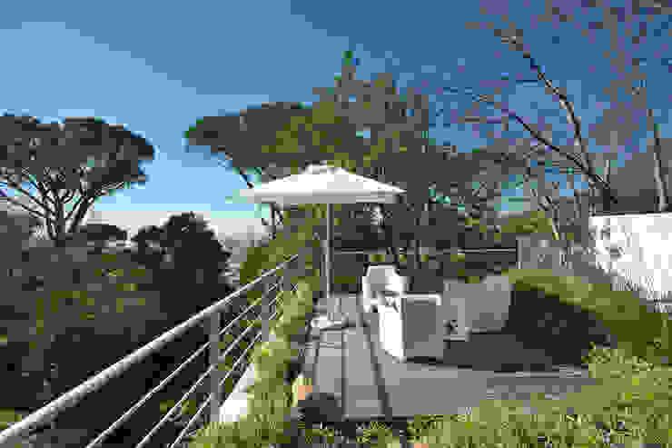 Roof Garden & Patio Van der Merwe Miszewski Architects Patios Wood Wood effect