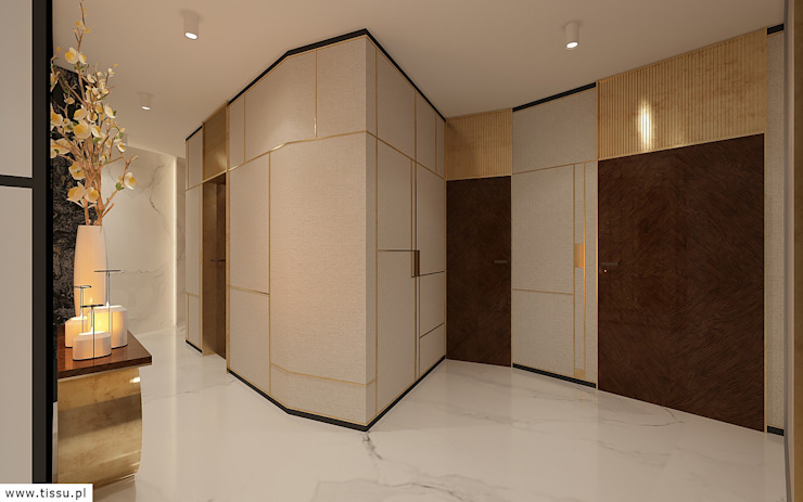 Classic style doors by TISSU Architecture Classic Marble