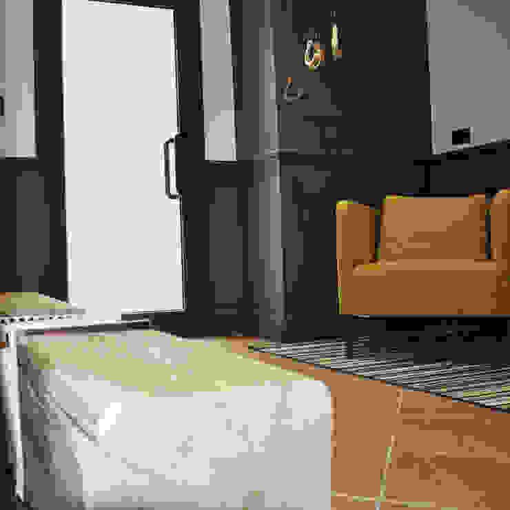 Vista ingresso Negozi & Locali commerciali moderni di Studio Forma Moderno