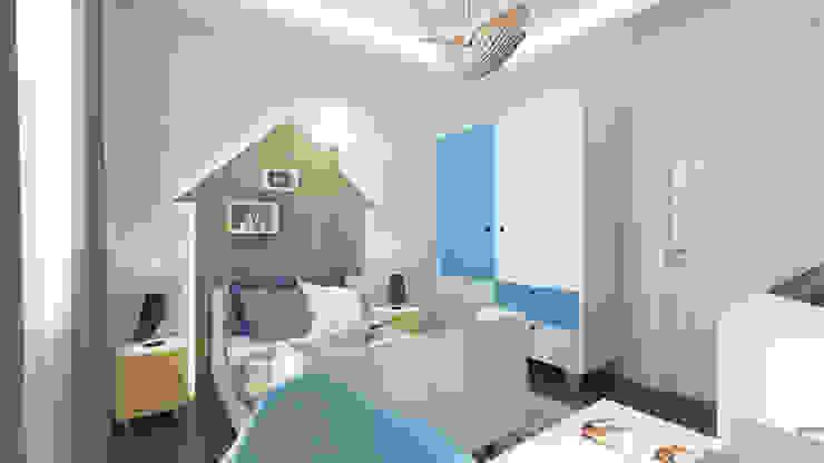 Dormitorios infantiles de estilo moderno de homify Moderno Madera Acabado en madera