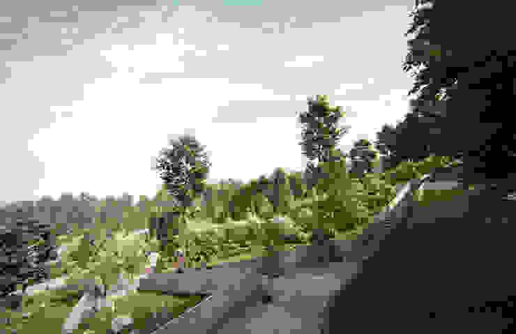 Parque Bosques de Minas de RA! Moderno Madera Acabado en madera