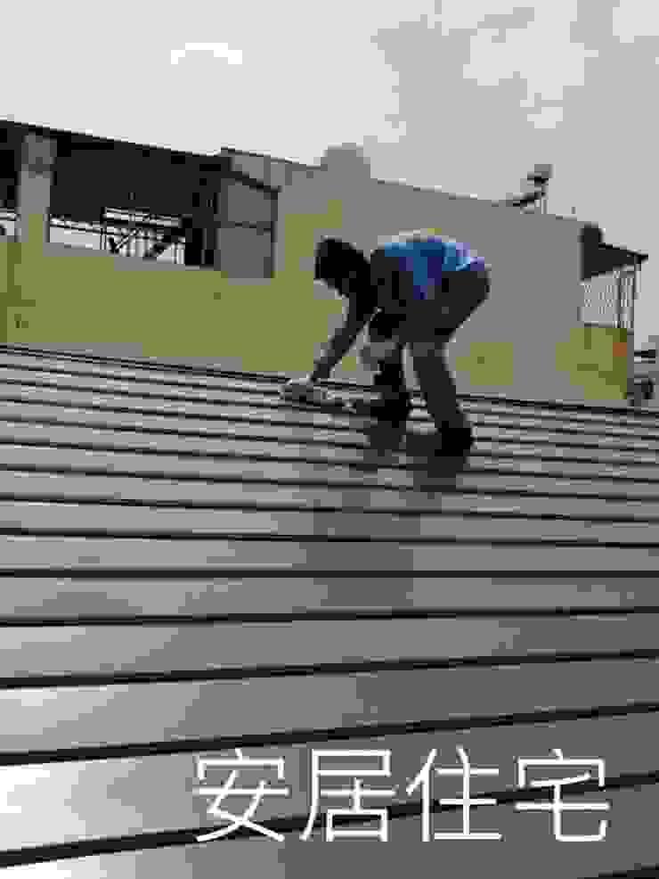 鍍鋁鋅+氟碳烤漆 根據 安居住宅有限公司