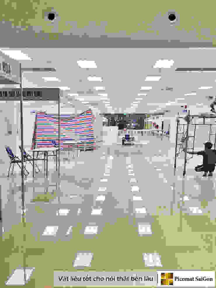 Dự án ốp trần nhựa Trung tâm triễn lãm hội nghị Quốc tế Việt Nam (Itecc) bởi Picomat Sài Gòn Công nghiệp