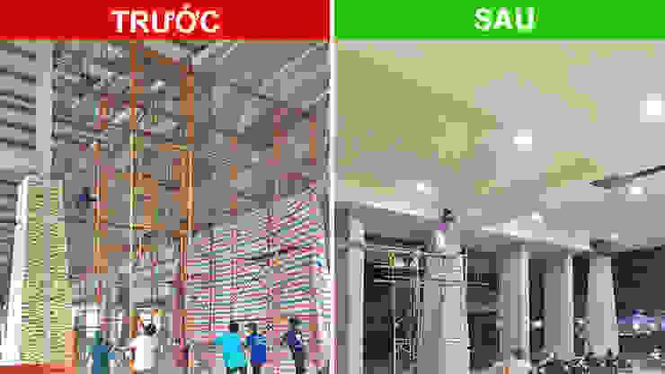 Dự án ốp trần nhựa Trung tâm triễn lãm hội nghị Quốc tế Việt Nam (Itecc): công nghiệp  by Picomat Sài Gòn, Công nghiệp