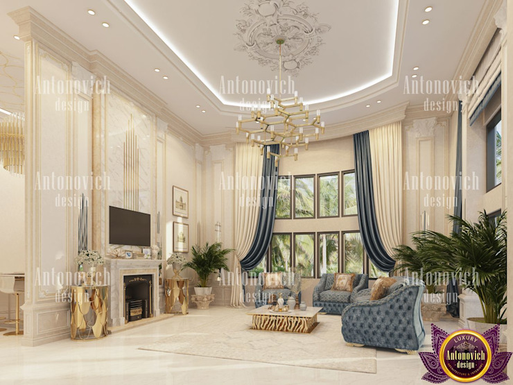 Classic style living room by Luxury Antonovich Design Classic
