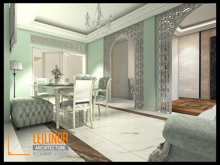 Classic Residential Ruang Makan Klasik Oleh CV Leilinor Architect Klasik