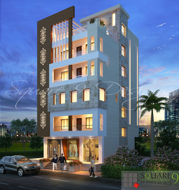 JOHAR EZZY 1 Square Designs Modern houses
