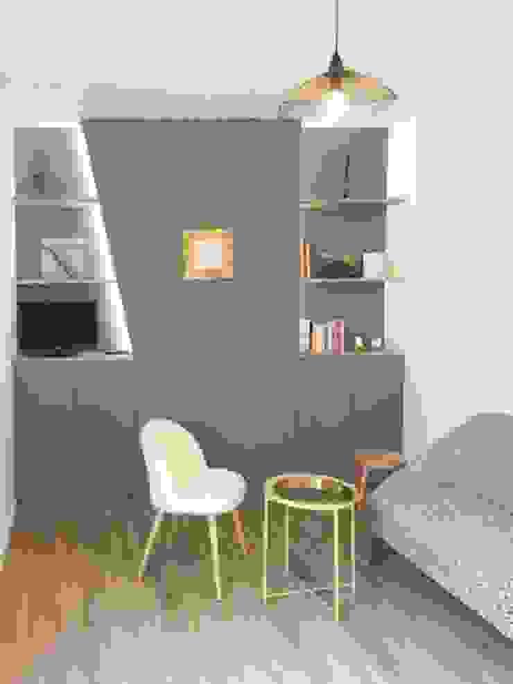 Appartamento a Parigi Soggiorno in stile rustico di smellof.DESIGN Rustico