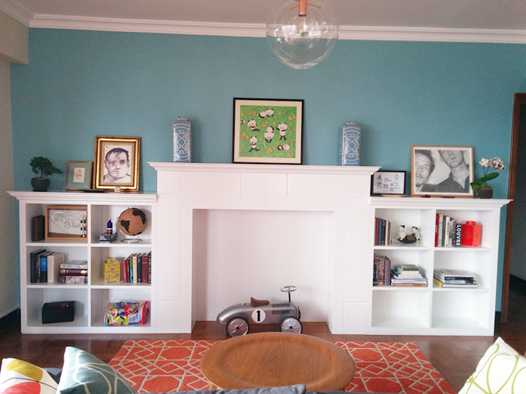 Mid Levels Living Room Re-Do by B Squared Design Limited
