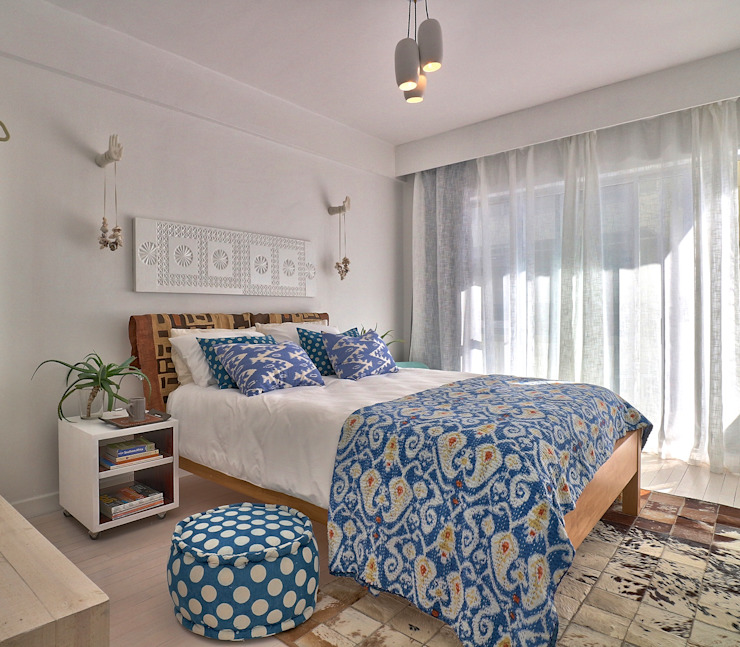 Beach Retreat Studio Do Cabo Eclectic style bedroom