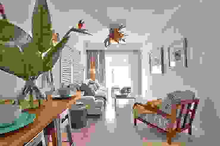 Гостиные в эклектичном стиле от Studio Do Cabo Эклектичный