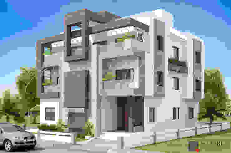 RENU KHEMKA 1 Square Designs Modern houses