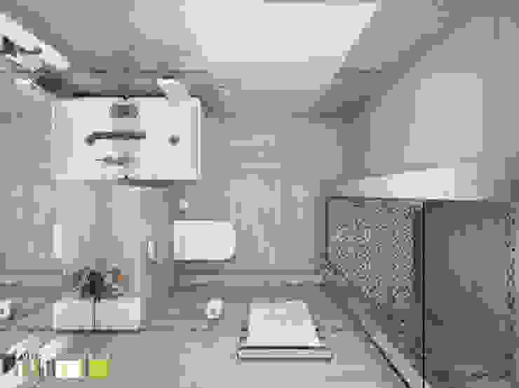 Легкая жизнь Ванная комната в эклектичном стиле от Мастерская интерьера Юлии Шевелевой Эклектичный