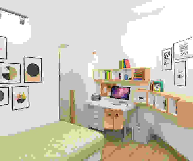 Project Apartemen Taman Anggrek Kamar Bayi/Anak Modern Oleh PT. Magnolia Adi Sentosa Modern