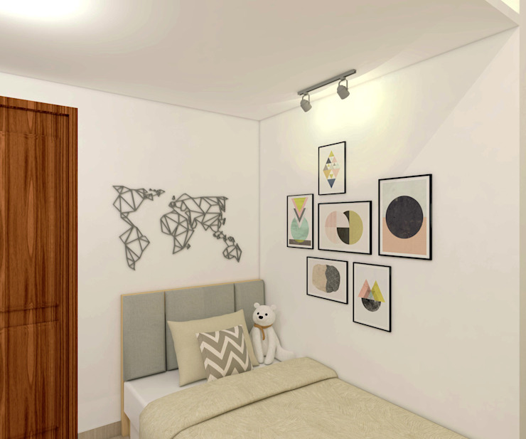 Project Apartemen Taman Anggrek Kamar Tidur Modern Oleh PT. Magnolia Adi Sentosa Modern