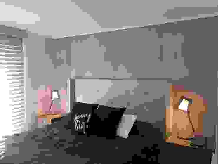 Dormitorio Principal Dormitorios de estilo industrial de Kaa Interior | Arquitectura de Interior | Santiago Industrial