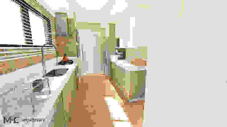 Ampliação Cozinha Cozinhas modernas por MHC arquitetura Moderno