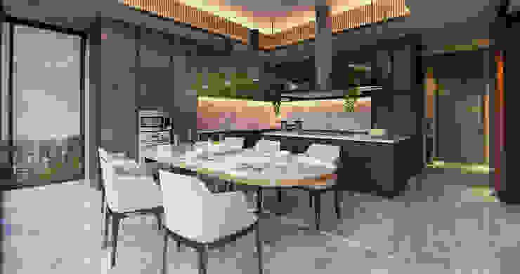 Comedores de estilo moderno de nakula arsitek studio Moderno