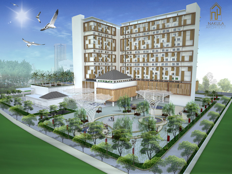 Hotel Bintang 5 Fatmawati Hotel Modern Oleh nakula arsitek studio Modern