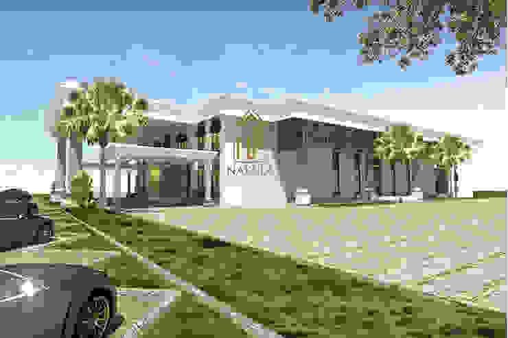Graha Ronatama Rumah Modern Oleh nakula arsitek studio Modern