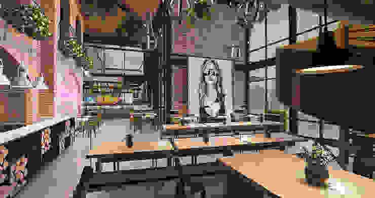 Cafe Sudestada Gastronomi Modern Oleh nakula arsitek studio Modern
