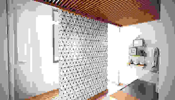 interiorismo Stuen Arquitectos Baños modernos Azulejos Blanco