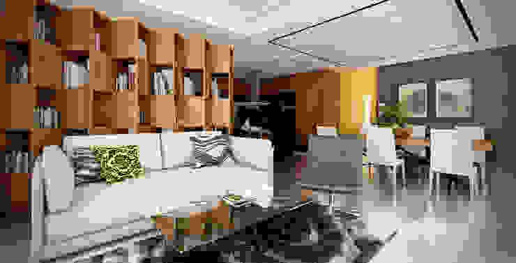 โดย Stuen Arquitectos โมเดิร์น ไม้ Wood effect