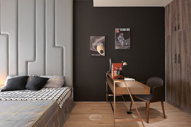 Scandinavian style bedroom by 層層室內裝修設計有限公司 Scandinavian