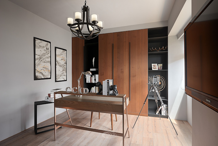 層層室內裝修設計有限公司 Modern Study Room and Home Office