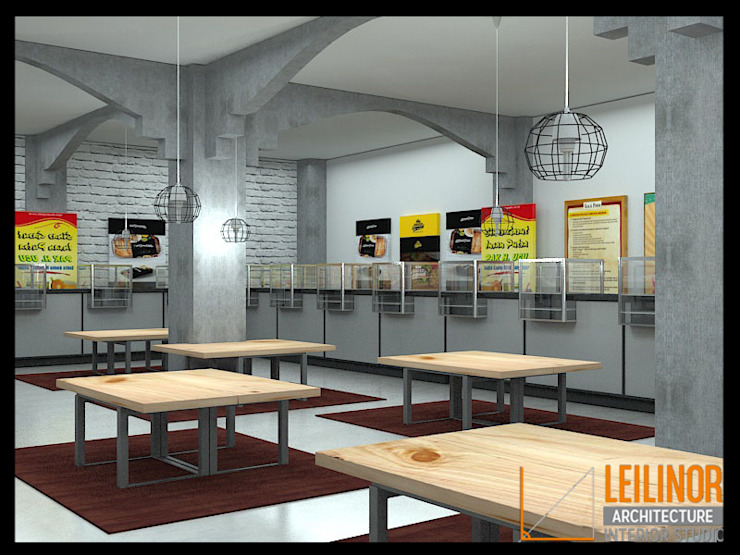 Canteen Renovation by CV Leilinor Architect Industrial
