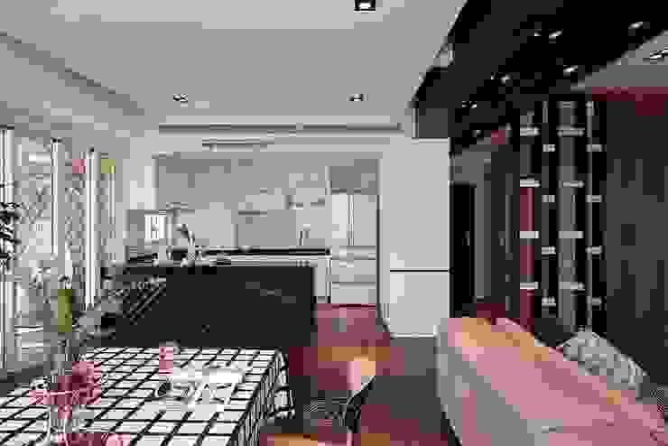 退休人文景觀宅 層層室內裝修設計有限公司 餐廳