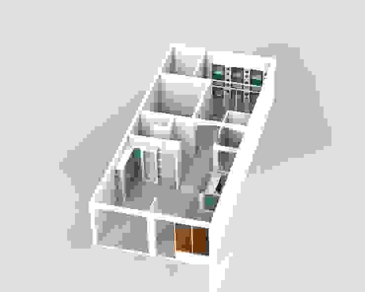 Modelado Propuesta de Intervención de MARROOM   Diseño Interior - Diseño Industrial