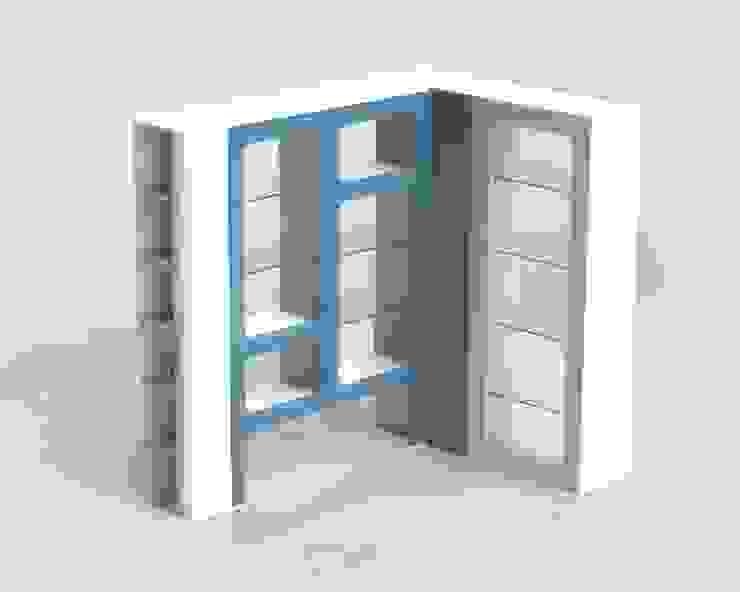 Diseño Vitrinas de MARROOM   Diseño Interior - Diseño Industrial