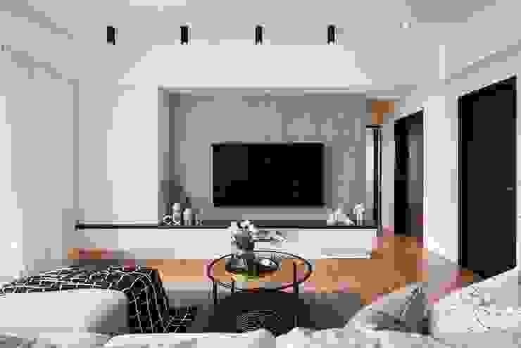 無印簡約風放鬆宅 根據 層層室內裝修設計有限公司 北歐風
