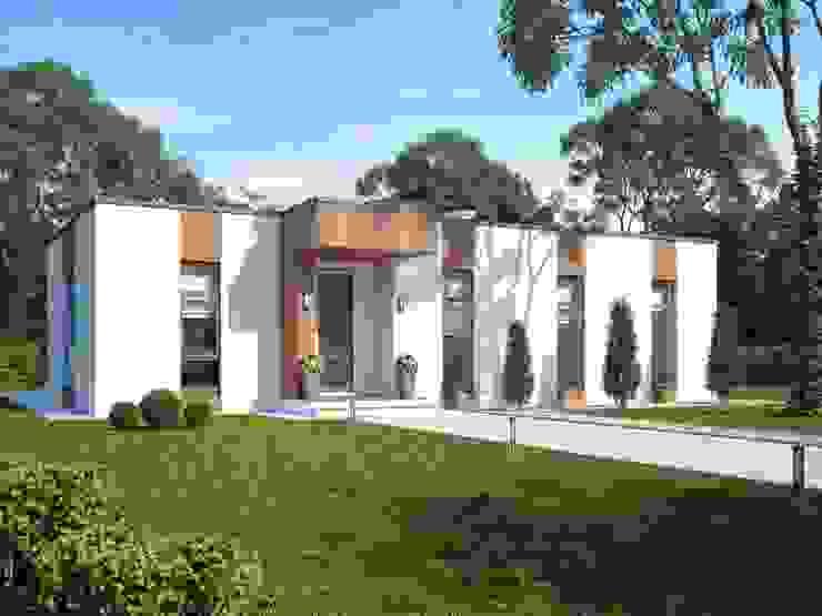 Вельц_161 кв.м: Дома в . Автор – Vesco Construction,